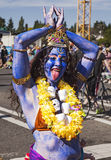 Kali The Hindu Goddess Stock Photo
