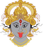 Kali Maa (Kalika) Indian Goddess Stock Image