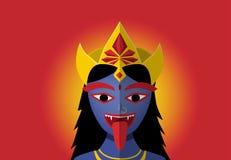 Kali no estilo do retrato, vetor ilustração do vetor