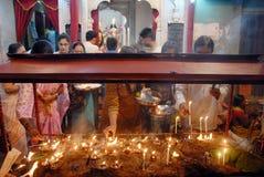 Kali worship Celebrations in West Bengal Royalty Free Stock Photo