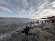 Kalia Beach on the Dead Sea, West Bank
