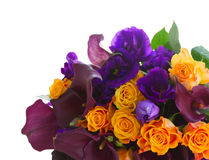 Kalia lilly i eustoma kwiaty Obrazy Stock