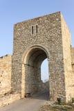 Kaliakra中世纪堡垒。保加利亚 库存图片