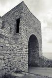 Kaliakra陆岬的,保加利亚,黑海海岸堡垒 免版税图库摄影