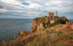 Kaliakra堡垒,保加利亚 免版税库存图片