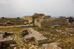 Kaliakra Cape ruins Royalty Free Stock Photography