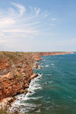Kaliakra cape sea view Stock Photography