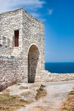 Kaliakra Fortress. Fortress at Cape Kaliakra in Bulgaria Stock Images
