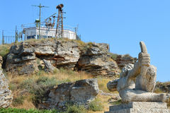 Kaliakra-Kap, Bulgarien Lizenzfreie Stockfotos