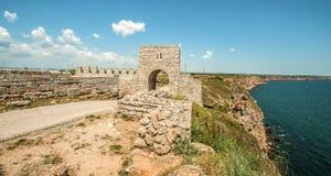 Kaliakra-Kap-Festung Stockfotografie