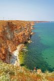 KALIAKRA - paisaje Imagen de archivo libre de regalías