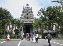 Kaliamman寺庙新加坡 图库摄影