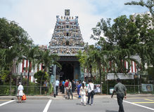 Kaliamman Temple Singapore Stock Photography