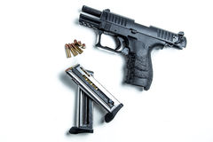 22 kaliberów pistolecik Zdjęcie Stock