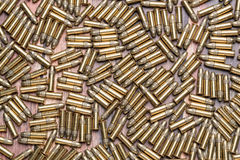 22 kaliber rimfire amunici Obraz Stock