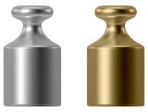 Kaliberbepalingsgewicht Royalty-vrije Stock Afbeeldingen