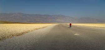 Kalifornia, Śmiertelna dolina, bad woda zdjęcia royalty free