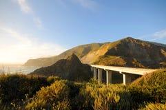 Kalifornia autostrada 1 Obrazy Royalty Free