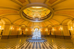 Kalifornia Capitol rotunda Obraz Royalty Free
