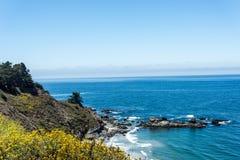 Kalifornia centrali wybrzeże Fotografia Royalty Free