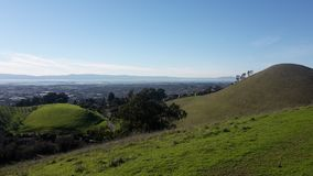 Kalifornia góry światło słoneczne obrazy stock