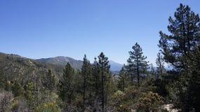 Kalifornia góry Zdjęcia Stock