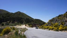 Kalifornia góry Obrazy Stock