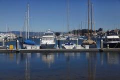 Kalifornia jachtu schronienie obrazy stock
