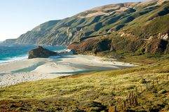 Kalifornia jest big sur Obraz Royalty Free