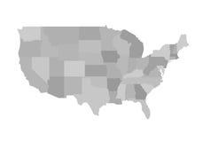 Kalifornia konturu mapa również zwrócić corel ilustracji wektora ilustracja wektor