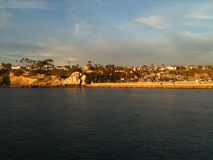 Kalifornia linia brzegowa Zdjęcie Royalty Free