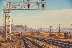 Kalifornia linii kolejowej system Fotografia Royalty Free