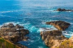 Kalifornia nabrzeżna trasa 1 obrazy royalty free