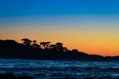 Kalifornia nabrzeżna trasa 1 fotografia royalty free