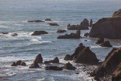 Kalifornia Nabrzeżna sceneria 1 Zdjęcia Royalty Free
