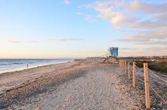 Kalifornia plaża Fotografia Royalty Free