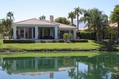Kalifornia pola golfowego dom zdjęcie stock