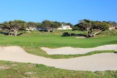 Kalifornia pole golfowe Fotografia Stock
