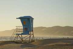 Kalifornia ratownika stojak Fotografia Royalty Free