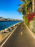 Kalifornia rowerowy pas ruchu Zdjęcie Royalty Free