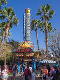 Kalifornia Screamin, Disney Kalifornia przygody park Fotografia Stock