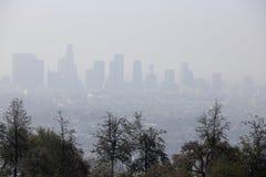 Kalifornia smog obraz stock