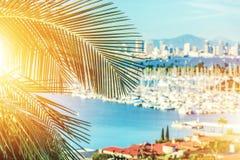 Kalifornia Sunshine State zdjęcia royalty free