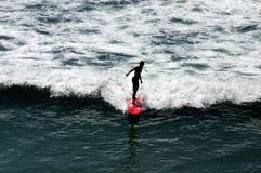 Kalifornia surfingowa chłopiec zdjęcia stock