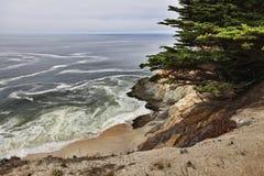 Kalifornia wybrzeże fotografia stock