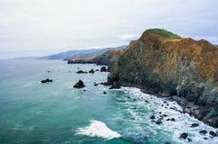 Kalifornia wybrzeże Zdjęcia Stock