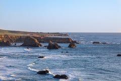Kalifornia wybrzeża krajobraz Fotografia Royalty Free