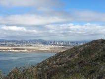 Kalifornia wybrzeża point loma Zdjęcia Stock