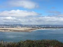 Kalifornia wybrzeża point loma Zdjęcia Royalty Free