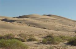 Kalifornien ökensand Arkivbilder